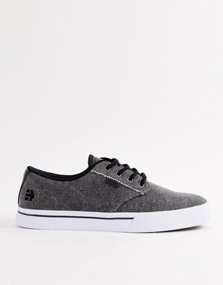 Etnies Jameson 2 Eco sneakers in black wash
