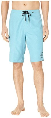 O'Neill Santa Cruz Solid 2.0 Boardshorts (Fog) Men's Swimwear