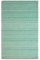 Serengeti Plantation Rug Co. 100 Wool Rug - 120x170 Jade Green