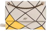 Roger Vivier Leather Paneled Shoulder Bag