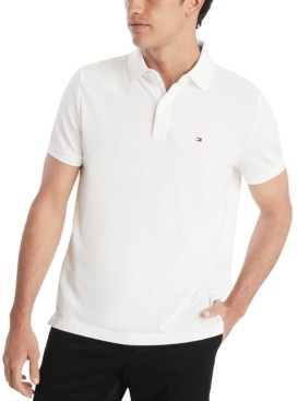 Tommy Hilfiger Men's Custom Fit Ivy Polo, Created for Macy's