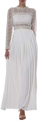 Self-Portrait Lace Sequinned Maxi Dress
