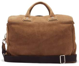 BEIGE Connolly - Sea 1902 Medium Suede Holdall - Womens