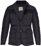 Moncler Ardenne layered quilted down coat