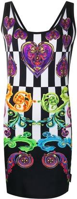 Versace baroque tank dress