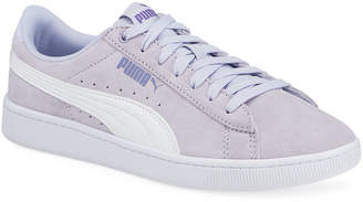 Puma Vikky v2 Low-Top Suede Basket Sneakers
