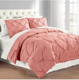Premium Collection Full/Queen Pintuck Bedding Comforter Set Bedding