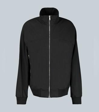 Rick Owens Long-sleeved zip-up sweatshirt