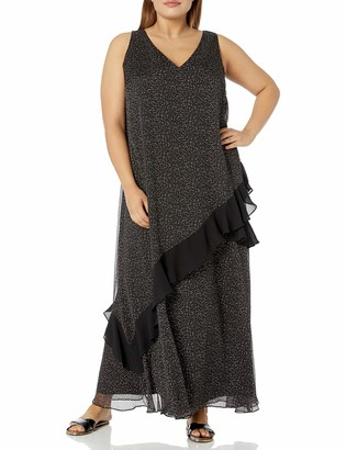 Rachel Roy Women's Plus Size LETA Ruffle Dress