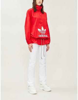 adidas Logo-print shell jacket