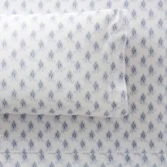Pottery Barn Teen Paisley Organic Pillowcases, Set of 2, Dusty Lavender