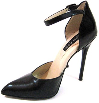 """The Highest Heel Fierce-141 D'Orsay Pump with Ankle and 4.5"""" Heel"""