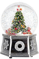 Spode Christmas Tree 2016 Tree Musical Snowglobe