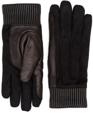 Aquatalia Leather Cuff Glove