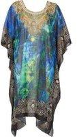 Dorothy Perkins Womens *Izabel London Multi Blue Kaftan Dress- Blue