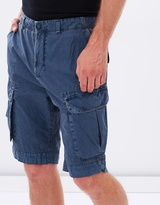 Jag Garment Dyed Cargo Shorts
