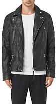 Allsaints Allsaints Yuku Biker Leather Jacket, Black