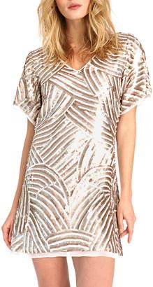 As By Df Aurora Beaded Mini Dress