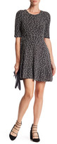 Collective Concepts Knit Fit & Flare Dress