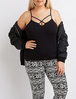 Charlotte Russe Plus Size Strappy Cami Tank Top