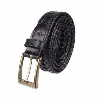 Dockers Leather Braided Casual and Dress Belt