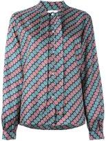 Societe Anonyme tie neck shirt - women - Silk - 2