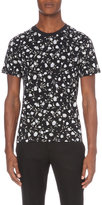 Sandro Lover Floral-print Cotton-jersey T-shirt