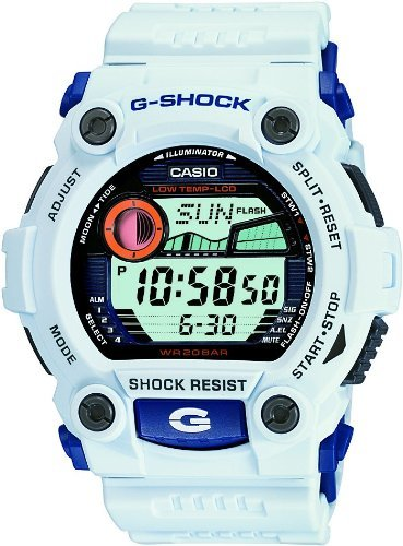 Casio (カシオ) - CASIO G-SHOCK (カシオ Gショック) 腕時計 メンズ タイドグラフ 耐低温仕様 G-7900A-7 ホワイト 海外モデル 逆輸入品