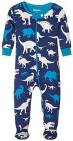 Hatley Silhouette Dinos Footed Coverall (Infant)