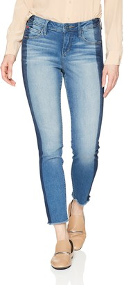 SLINK Jeans Women's Gwen Side Stripe Ankle 10