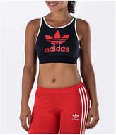 adidas Women's Originals Trefoil Sports Bra, Blue