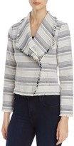 Cupcakes And Cashmere Amiri Tweed Stripe Jacket