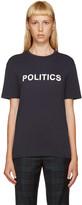 6397 Navy Politics T-Shirt