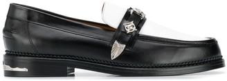 Toga Virilis Two-Tone Loafers