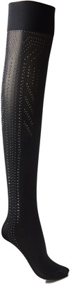 Wolford Treasure Star Crystal-embellished Opaque Tights