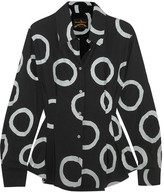 Vivienne Westwood Ringstead Printed Crepe Shirt - Black