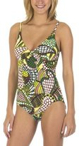 Merona® Printed 1-pc. Swimsuit - Green