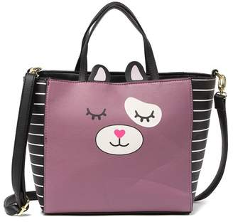 Betsey Johnson LUV BETSEY BY Gwen Mid Size Animal Satchel