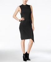 Bar III Asymmetrical Bodycon Sweater Dress, Only at Macy's