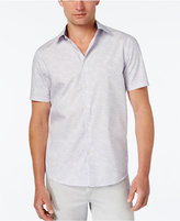 Michael Kors Men's Digital-Stripe Short-Sleeve Shirt