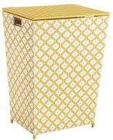 Pier 1 Imports San Martin Yellow Wicker Laundry Hamper