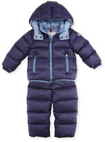 Moncler Lucien Quilted Puffer Coat & Pants, Size 12M-3T