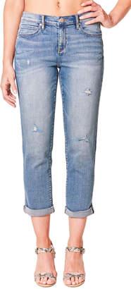 Nicole Miller Light-Wash Boyfriend Jeans