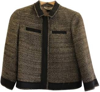 Jigsaw Brown Tweed Jacket for Women