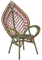 Woven Rattan Leaf Chair