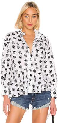 Kenzo Ruffle Collar Shirt