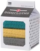 Now Designs Dishcloth Set in a Milk Carton