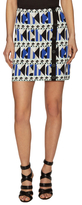 Rachel Roy Pyramid Intarsia Sweater Skirt