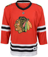 adidas Chicago Blackhawks Blank Replica Jersey, Toddler Boys