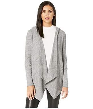 Splendid Women's Thermal Cardigan with Hood